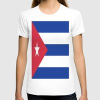 cuba T-shirts featuring Flag of Cuba ★ by Barrier _S_D