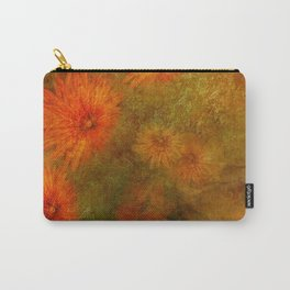 """""""Golden Manila Flowers"""" Carry-All Pouch"""