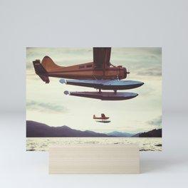 Alaskan Float Planes Mini Art Print