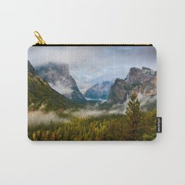 Yosemite National Park / Tunnel View  4/26/15 Carry-All Pouch