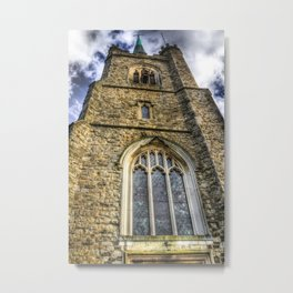 The English Church Metal Print