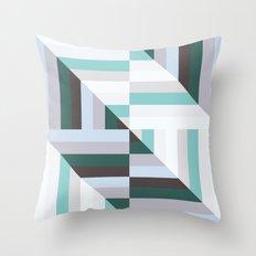 Maze | 60s Throw Pillow