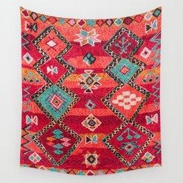 18 - Traditional Colored Epic Anthique Bohemian Moroccan Artwork Wall Tapestry
