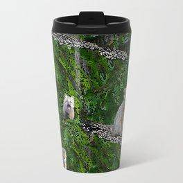 Fox Forest - small design Travel Mug