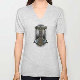 Tribute to Thor Unisex V-Neck