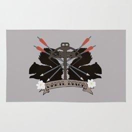 Daryl Dixon Coat of Arms Rug