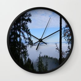 Through the Forest.... Wall Clock