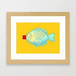 Drowning the Oceans Gerahmter Kunstdruck