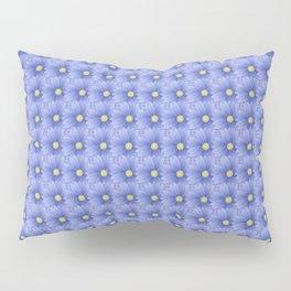 Flowers in Blue Pillow Sham