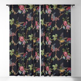 mommas crockery Blackout Curtain