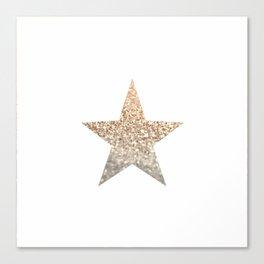 GOLD STAR Canvas Print