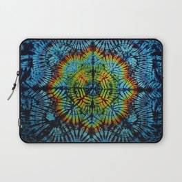 Exhale: A vibrant mix of colors of the rainbow Laptop Sleeve