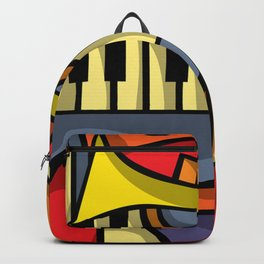Abstract Jazz art Backpack