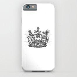 Coat of arms of Hongkong iPhone Case