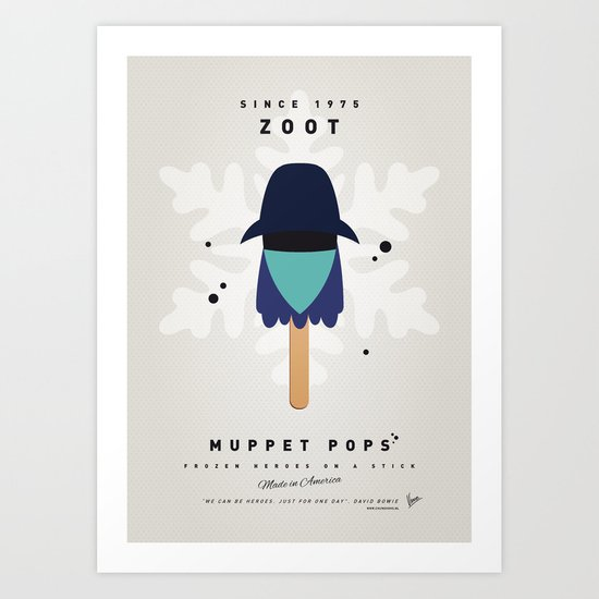 My MUPPET ICE POP - Zoot Art Print
