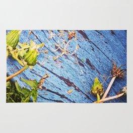 Dandelion Blue Rug