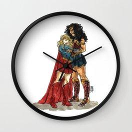 Super Hug Wall Clock