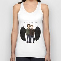 supernatural Tank Tops featuring supernatural by fluidgold