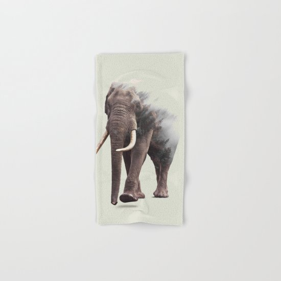 Elephantastic #society6 #decor #buyart Hand & Bath Towel