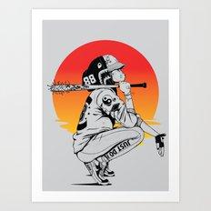 2 Suns: 88 Art Print