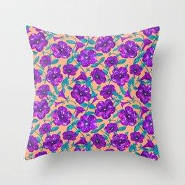 Petunia Night Sky (2) Throw Pillow