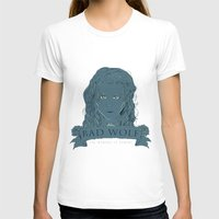 bad wolf T-shirts featuring Bad Wolf by AmdyDesign