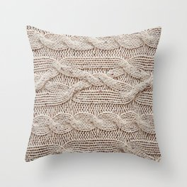 sweater Throw Pillow