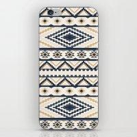 aztec iPhone & iPod Skins featuring AZTEC by Oksana Smith