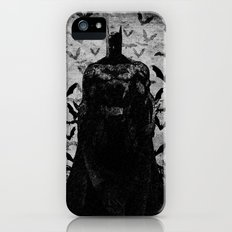 The night rises B&W Slim Case iPhone (5, 5s)