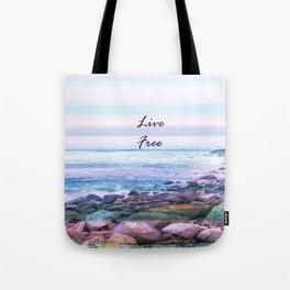 live free travel to west coast Tote Bag