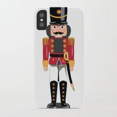 Christmas nutcracker soldier iPhone X Slim Case