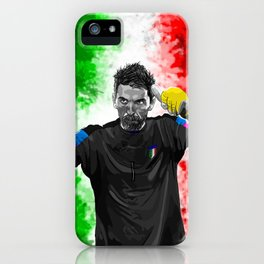 Gianluigi Buffon - Italy iPhone Case