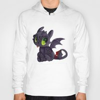 toothless Hoodies featuring Toothless by Kam-Fox