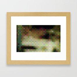 ABSTRACT PIXELS #0011 Framed Art Print