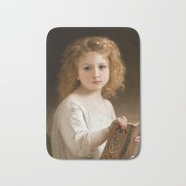 The Story Book by William-Adolphe Bouguereau, 1877 Bath Mat