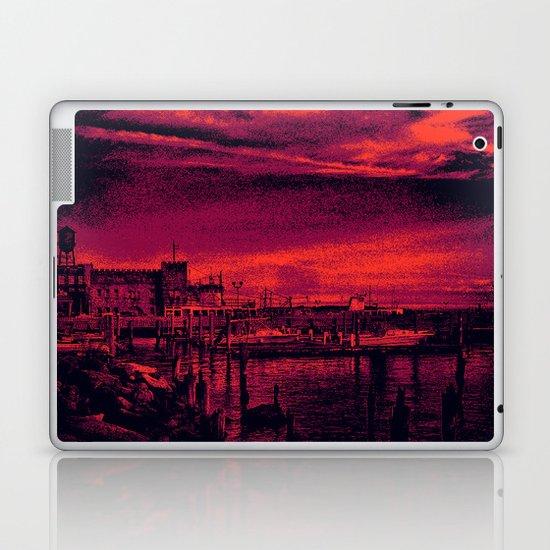 Sunset Over Bristol Harbor 3 Laptop & iPad Skin