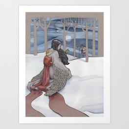 The Crane Wife Art Print