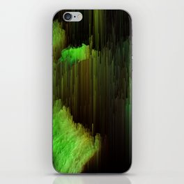 Ectoplasm - Abstract Glitchy Pixel Art iPhone Skin