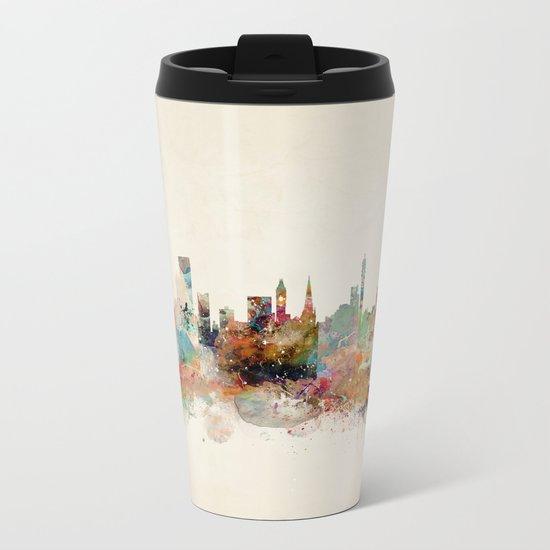 birmingham england skyline Metal Travel Mug