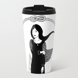 Lost in the sea Travel Mug