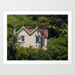 Caretakers House Art Print