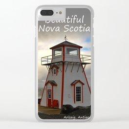Beautiful Nova Scotia Clear iPhone Case