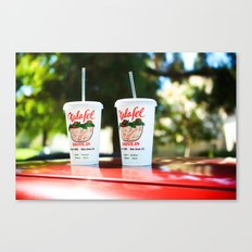 Falafel Drive-In Canvas Print