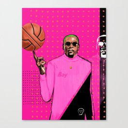 Durant, The Slim Reaper Canvas Print