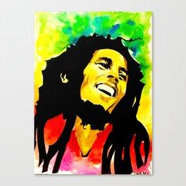 Bob / Marley - Sun is Shining Canvas Print
