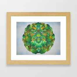 Father Forest Framed Art Print