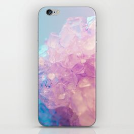 Crystallized Light Colors iPhone Skin