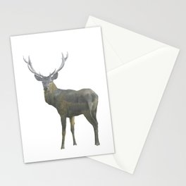 Deer patronus Stationery Cards