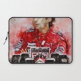 Ayrton Senna Laptop Sleeve