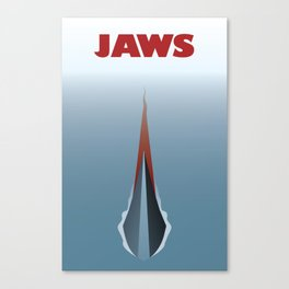 Jaws V2 Canvas Print